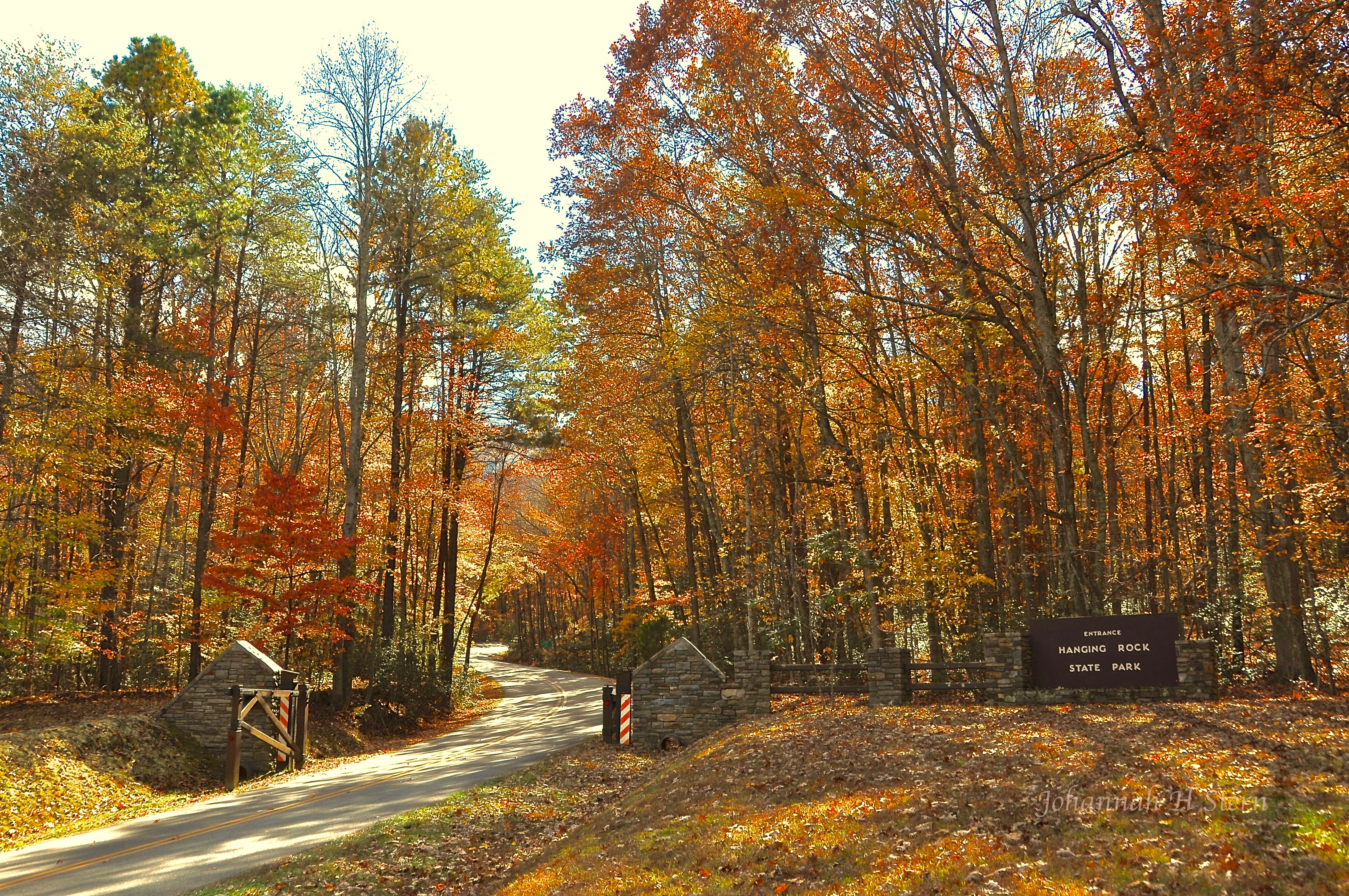 Hanging Rock State Park Entrance. Photo by Johannah H. Stern.