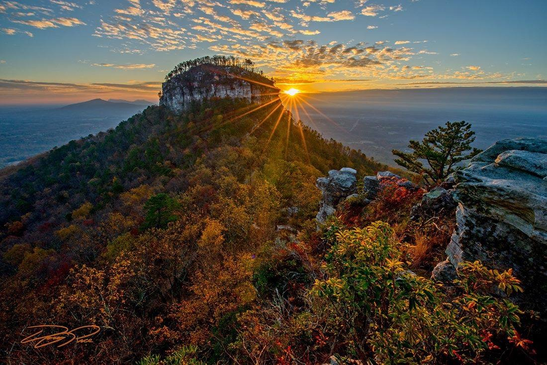 Pilot Mountain. Photo by Doug Rice.