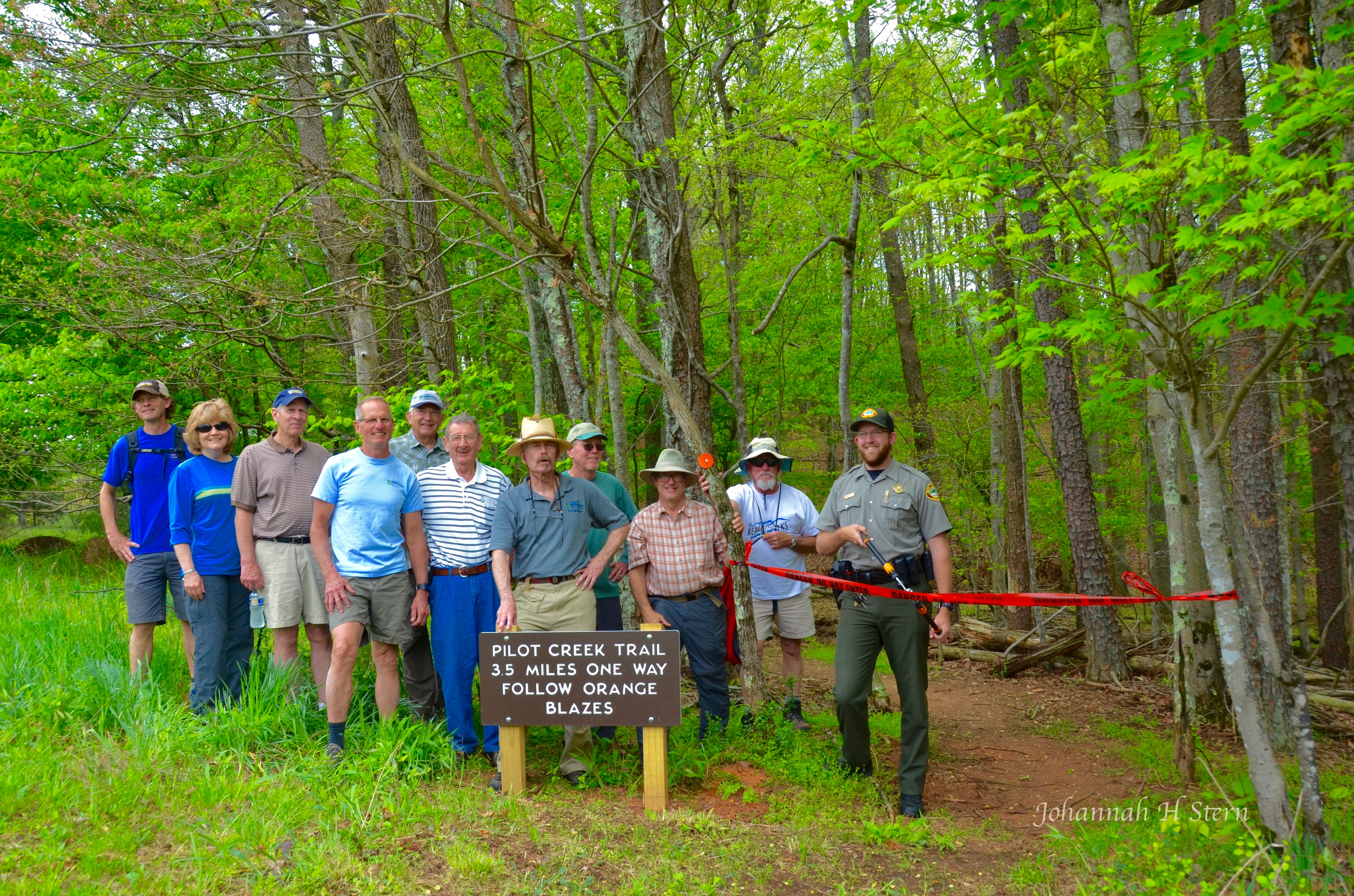 Pilot Creek Trail dedication- FSM Trail Crew