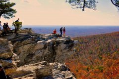 The Hanging Rock at Hanging Rock State Park, photo by Johannah H. Stern