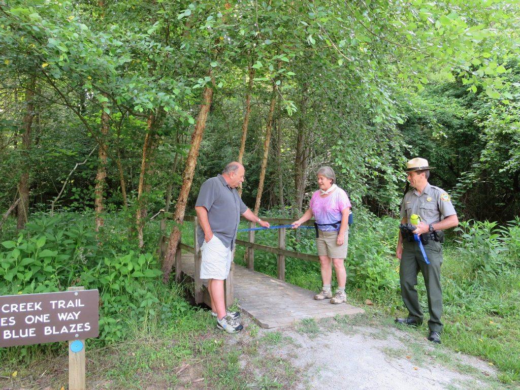 Horne Creek Trail Dedication. Photo by Johanna H. Stern.